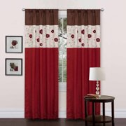 Royal Embrace Red Window Curtain