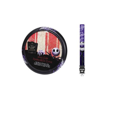 nightmare before christmas lanyard and wheel cover - Nightmare Before Christmas Steering Wheel Cover