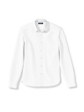 Men's Comfort-First Traditional Long Sleeve Stretch Sail Rigger Oxford