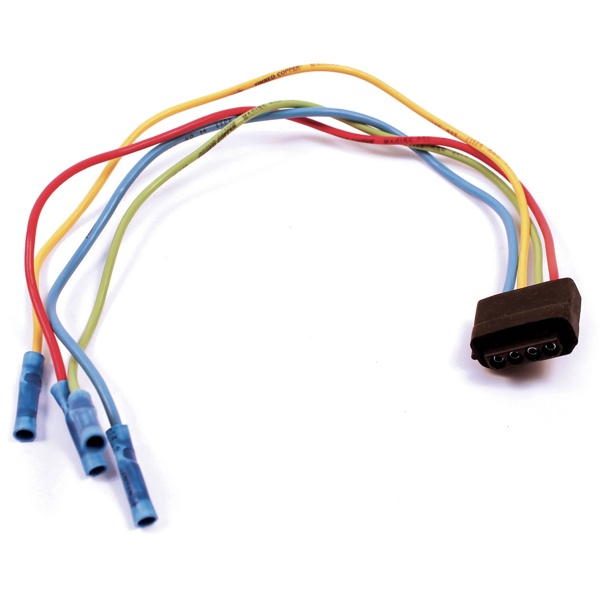 marine pt109 pigtail for wire harness walmart