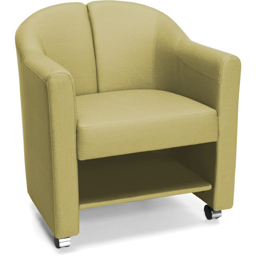 Mobile Club Chair, Leaf Green