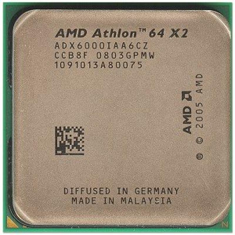 AMD Athlon 64 X2 6000+ Windsor 3.0GHz 2 x 1MB L2 Cache So...