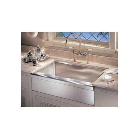 Franke MHX710-36 Manor House Drop In/Farmhouse Kitchen Sink, Stainless Steel