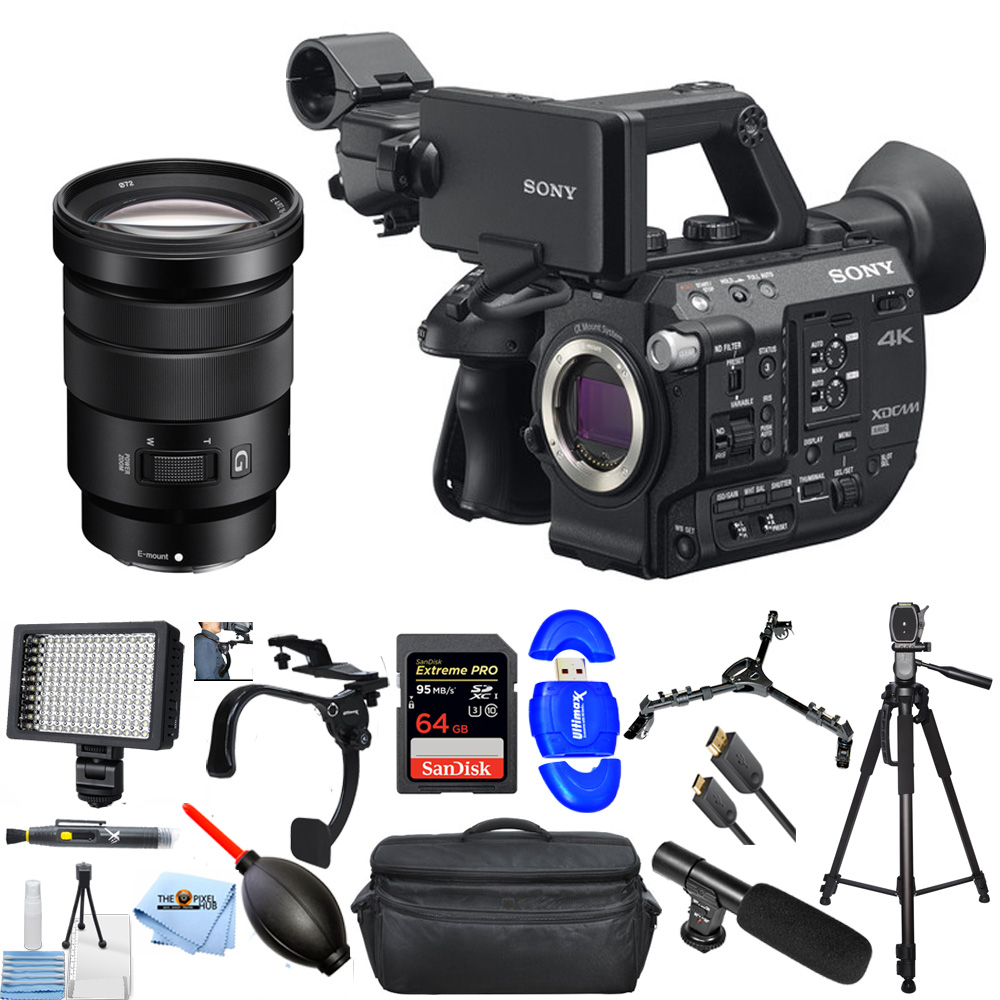 UNASSIGNED PXW-FS5 XDCAM Super 35 Camera System with Zoom Lens PRO BUNDLE
