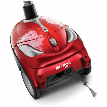 dirt devil tattoo bagged canister vacuum sd30040bb best