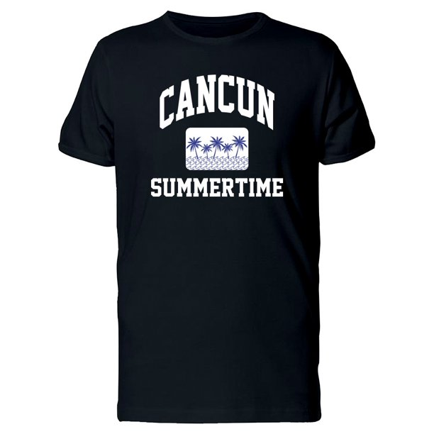 Cancun Summertime Paradise Tee Men's -Image by Shutterstock