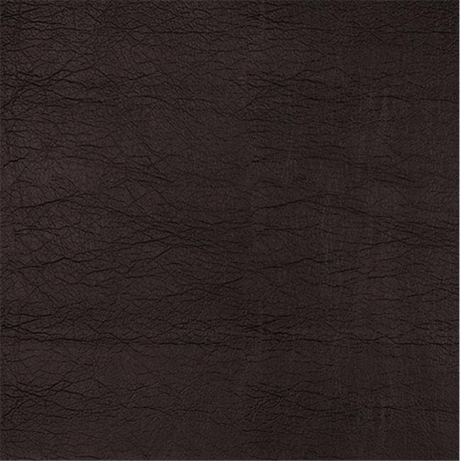 Designer Fabrics G390 54 in. Wide Dark Brown, Leather Grain Upholstery Faux Leather