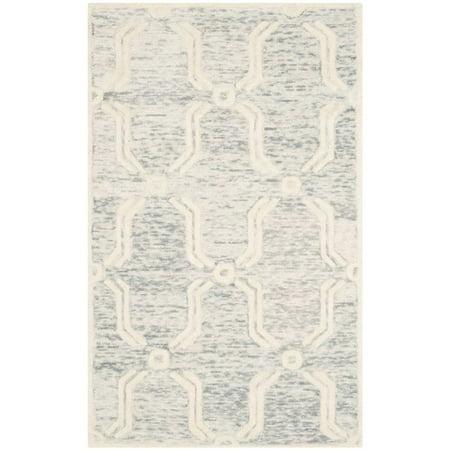 Safavieh Cambridge 6' Round Hand Tufted Wool Rug - image 1 de 10