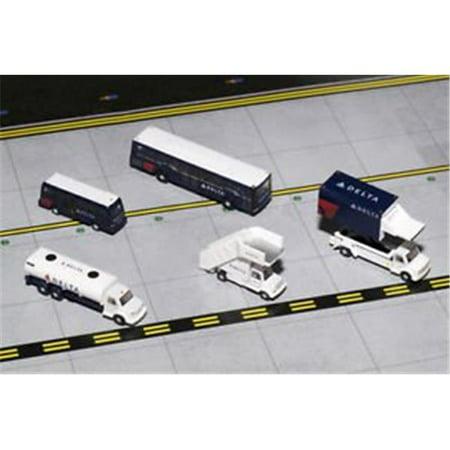 GEMINI200 Delta Ground Service Equipment Trucks 1/200