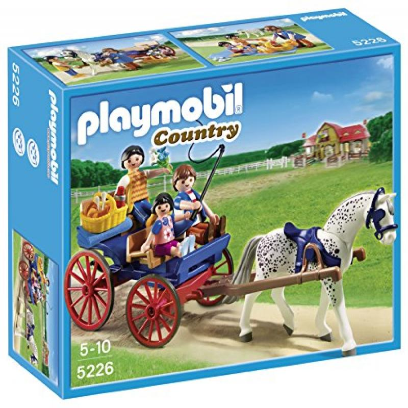 Playmobil Horse-drawn Carriage