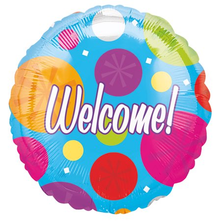 Anagram Welcome Home Bright and Colorful Dots 18