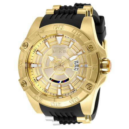 (Invicta Men's 26521 Star Wars Automatic Multifunction Gold Dial Watch)
