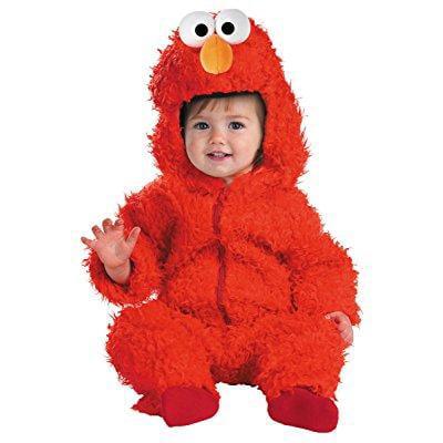 elmo plush baby infant costume - baby 12-18 for $<!---->