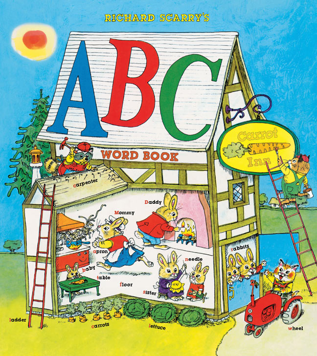 Richard Scarry's ABC Word Book (Hardcover)