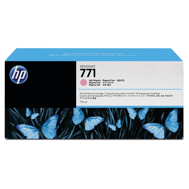 HP 771, (B6Y43A) 3-pack Light Magenta Original Ink Cartridges