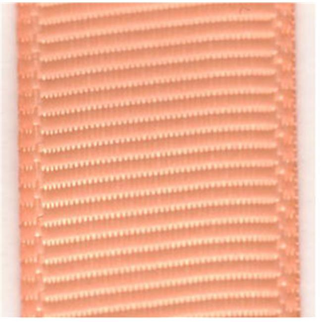 Papilion R074200160720100Y .63 in. Grosgrain Ribbon 100 Yards - Peach