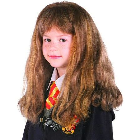 Harry Potter Hermione Granger Girls Kids Child Youth Costume Wig - Costume Hermione Granger