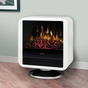 Dimplex Dcs19W White Electric Flame Cube Stove