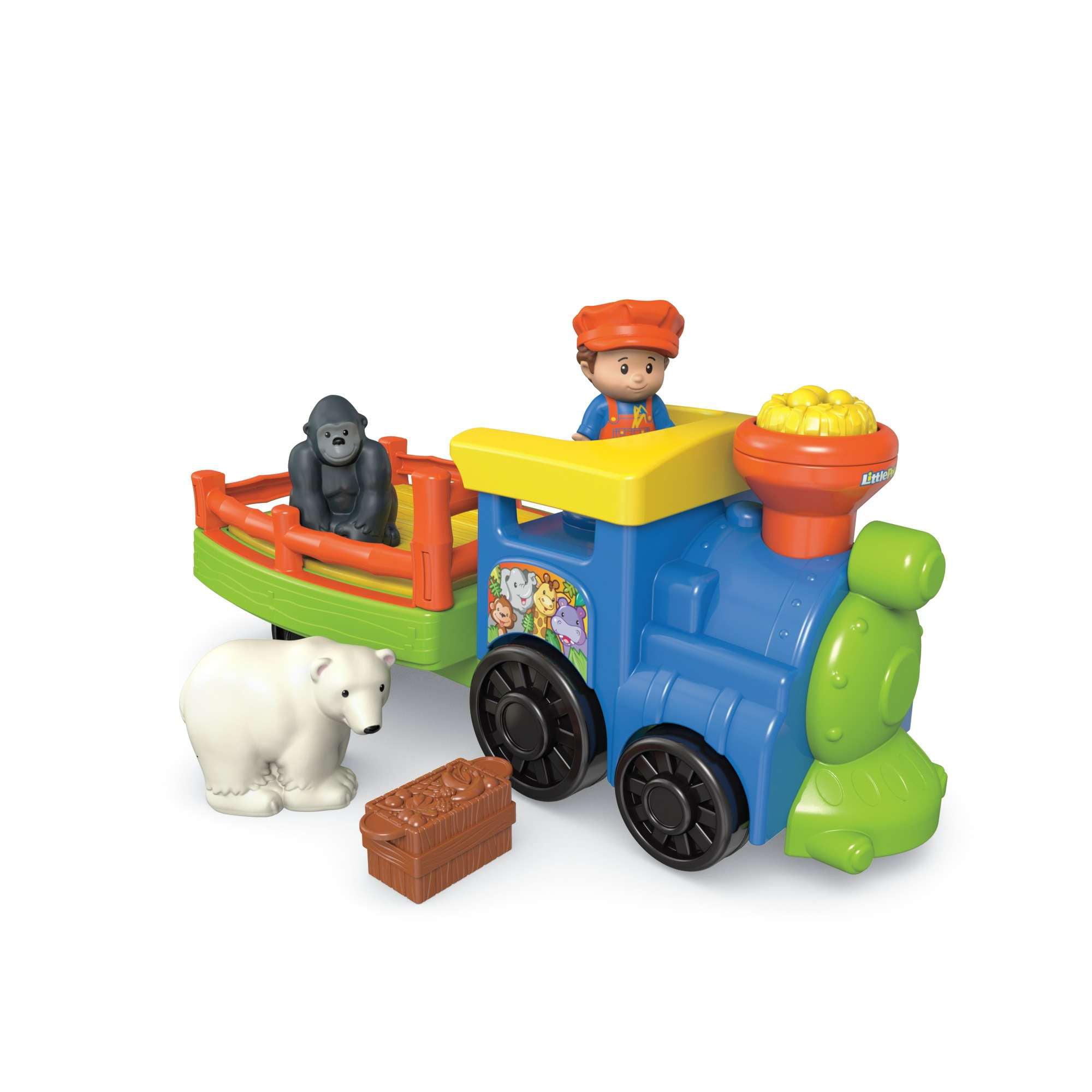 Fisher Price Little People Choo-Choo Zoo Train by Little People