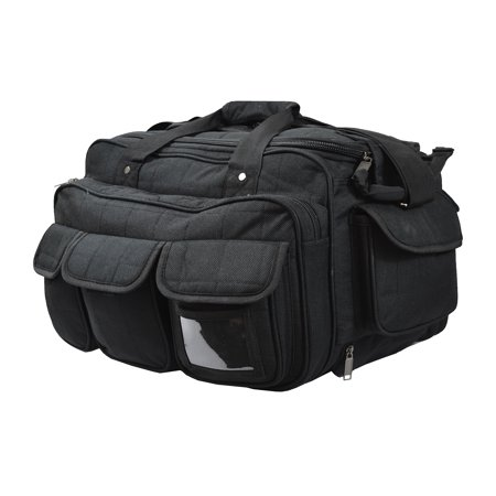 Every Day Carry Rolling Heavy Duty Jumbo Range Gear Bag Black - RR29
