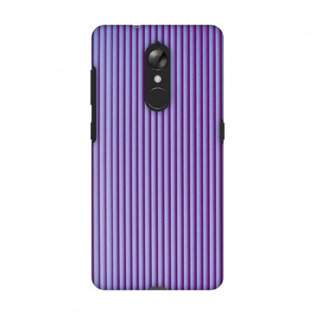 Lenovo K8 Case, Premium Handcrafted Designer Hard Shell Snap On Case Printed Back Cover with Screen Cleaning Kit for Lenovo K8, Slim, Protective - Carbon Fibre Redux Electric Violet 8