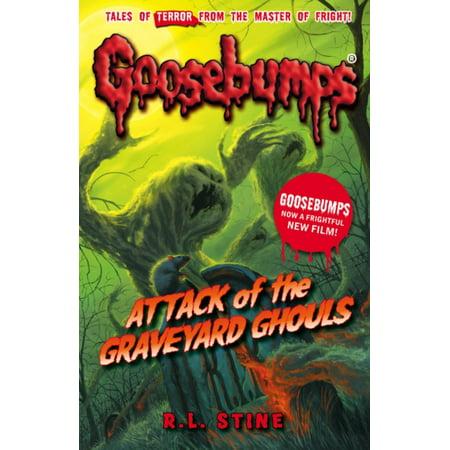 Attack of the Graveyard Ghouls (Goosebumps) (Paperback) - Goosebumps 2000 Headless Halloween