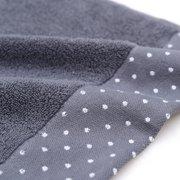 32-strands Plain Colour Cotton Water-absorbing Bathroom Towel for Bath Beach