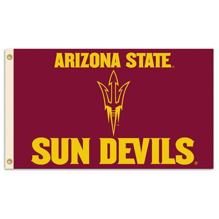 Arizona State University Sun Devil Logo Flag (Arizona State University Halloween)