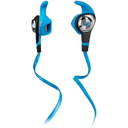 Refurbished Monster MH ISRT STV IE BL CU WW iSport Strive w/ ControlTalk In-Ear - Blue