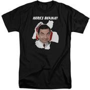 Mr Bean Here's Beanie Mens Big and Tall Shirt