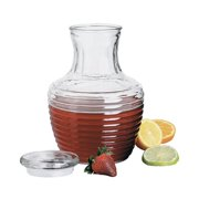 Anchor Hocking Glass Chiller Pitcher with Lid, 64 Ounce