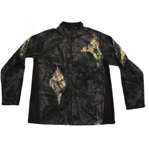 Mossy Oak Men's Fleece Camo Full Zip Jacket, MO Breakup Country by Generic