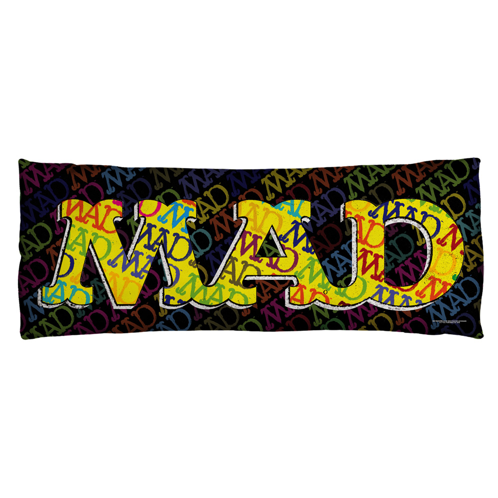 Mad So Much Mad Microfiber Body Pillow White 18X54
