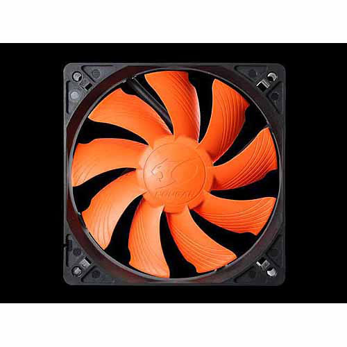 Cougar Turbine CF-T12S4 120mm Hyperspin Bearing Case Fan, Orange