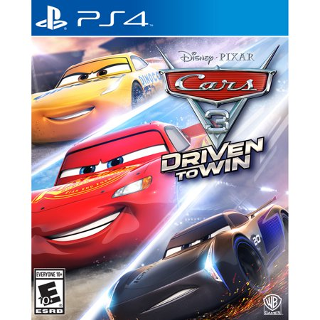 Cars 3: Driven to Win, Disney, Playstation 4 (Best Car Shooting Games)