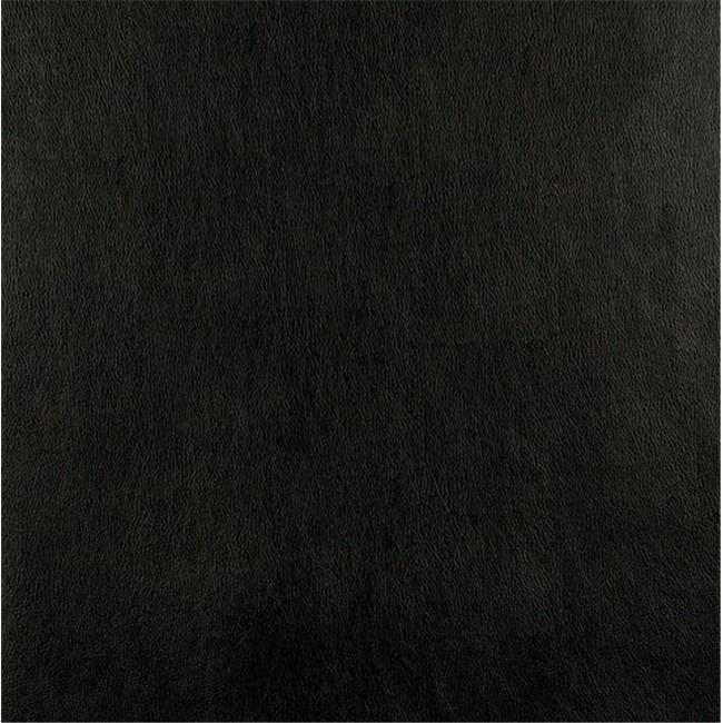 Designer Fabrics G549 54 in. Wide Black, Upholstery Grade Recycled Leather