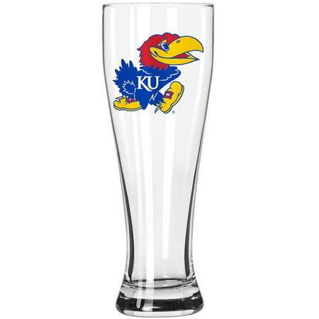 Boelter Brands NCAA University of Kansas Jayhawks 23-Ounce Grand Pilsner with Full Color Team Logo