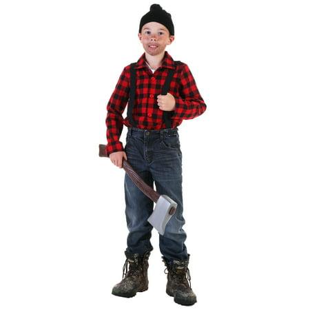 Lumberjack For Halloween (Child Lumberjack Costume)