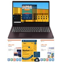 "Lenovo ideapad S145 15.6"" Laptop, Intel Celeron 42050U Dual-Core Processor, 4GB Memory, 128GB Solid State Drive, Windows 10 - Dark Orchid - 81MV00MAUS"