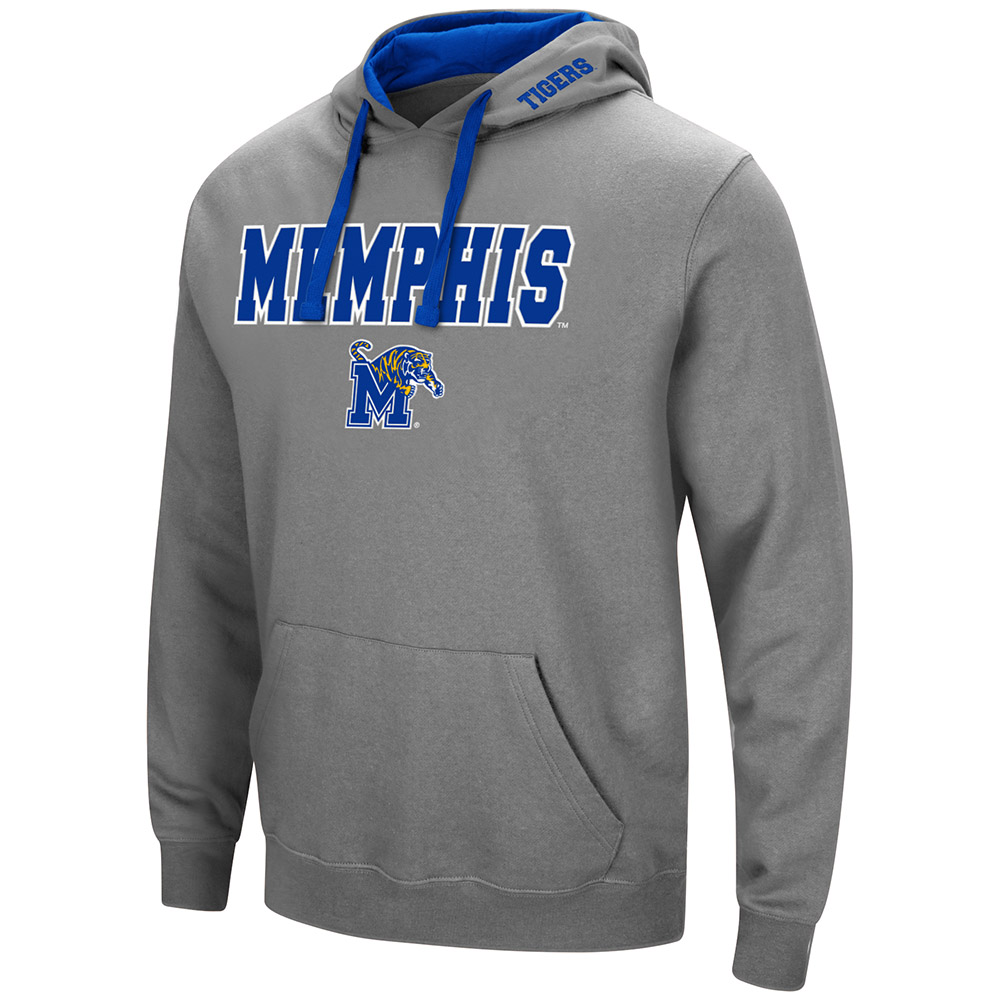 Mens Memphis Tigers Pull-over Hoodie - S