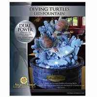 Newport Coast Collection Diving Turtle Fountain