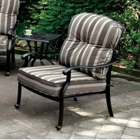 Transitional Chair, Antique Black, Set Of 2