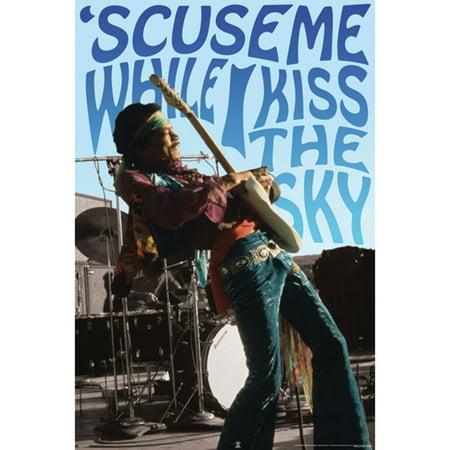 Jimi Hendrix   Domestic Poster