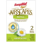 DampRid AirScapes Fresh Scent Refills, 2 count, 7 oz