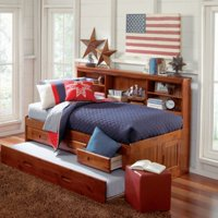 Donco Twin Bookcase Daybed - Merlot