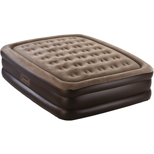 Coleman Queen Double High Airbed with Electric 120V Pump