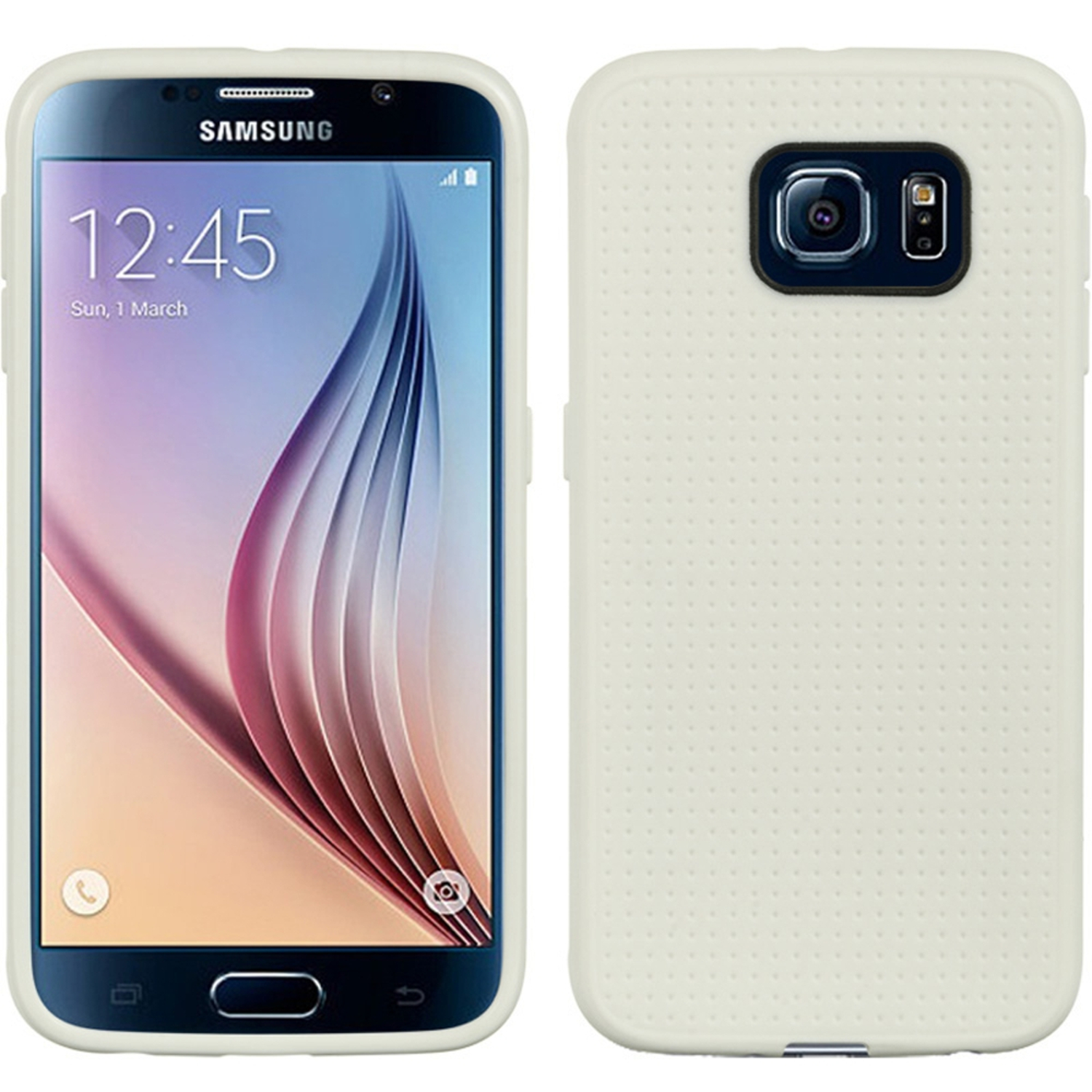 Samsung Galaxy S6 Case, by Insten Dots Rubber TPU Case Cover For Samsung Galaxy S6 SM-G920