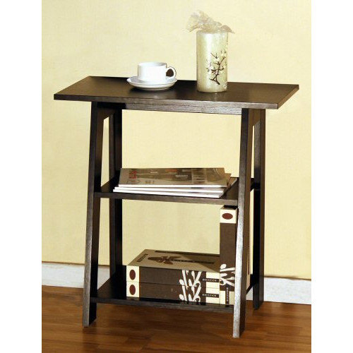 Ladder Chairside EndTable Red Cocoa