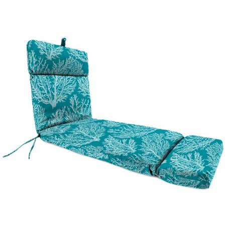 Highland Dunes Claireville Indoor/Outdoor Chaise Lounge with Cushion ()