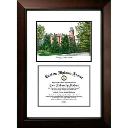 Campus Images CO995LV-108 8 x 10 in. University of Colorado, Boulder Legacy Scholar Diploma Satin Frame